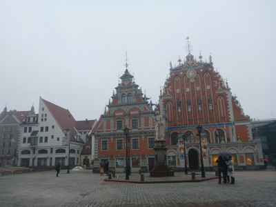 Blackheads House in Riga, Latvia.