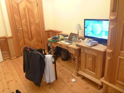 My work station for blogging.