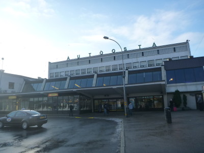 Riga Bus Station, Latvia.
