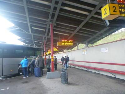 Riga Station, Latvia.