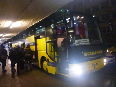 Arrival in Tallinn.