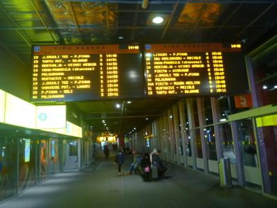 Viru Keskus bus station.