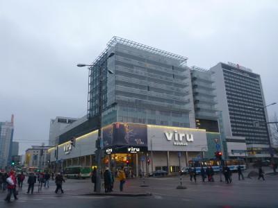 Start off in Viru Keskus bus station.