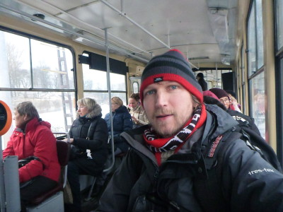 On the local tram