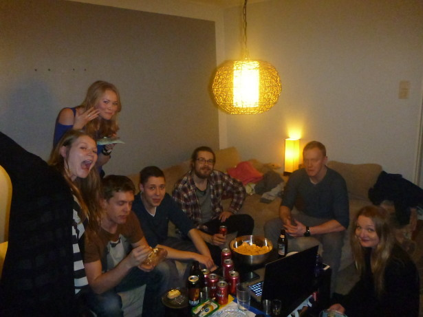 The crazy house party in Jarvenpaa