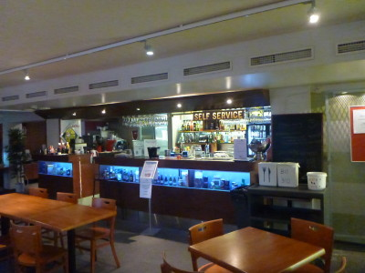 Downstair Bar and Restaurant at Euro Hostel