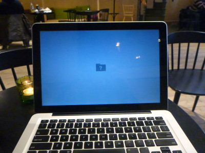 Apple laptop breaks for the 16th and final time.
