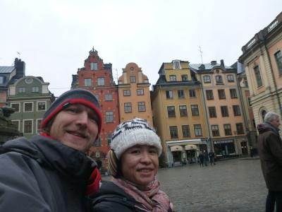 Touring Old Town Stockholm - Gamla Stan.