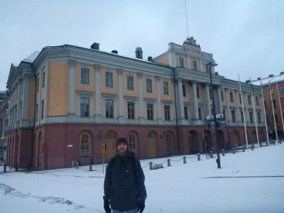 Back in Stockholm, Sweden