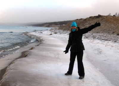 World Travellers: Katie Aune On Olkhon Island in Lake Baikal in Siberia