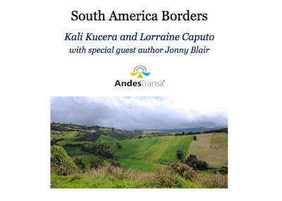 World Borders: South America border crossings book