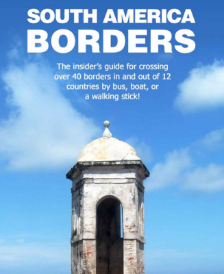 South America border crossings book