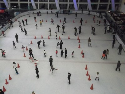 Ice skating in Hungary. Not even fucking Budapest.