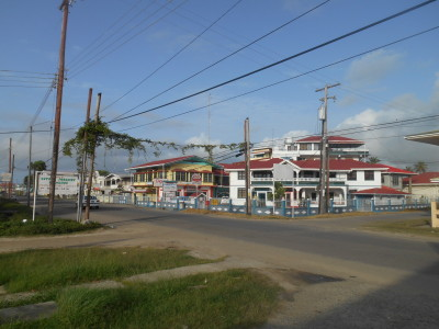 Breakfast stop in Corriverton, Guyana
