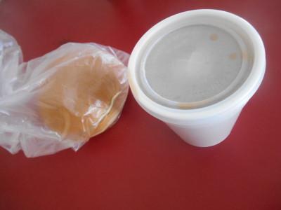 Breakfast in Corriverton, Guyana