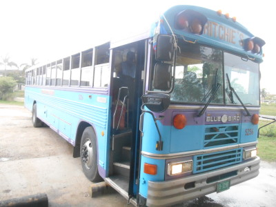 Chicken bus to Placencia from Belmopan