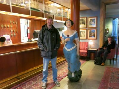 Lady Hamilton and I