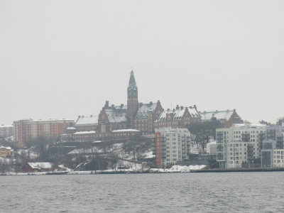Stockholm is just a load of buildings and people living on islands.