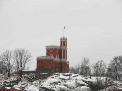 The fortress at Kastelholmenn