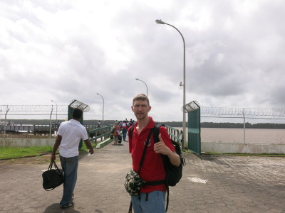 Leaving Guyana for Suriname
