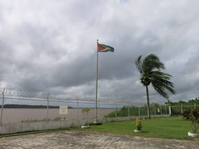 Leaving Guyana for Suriname