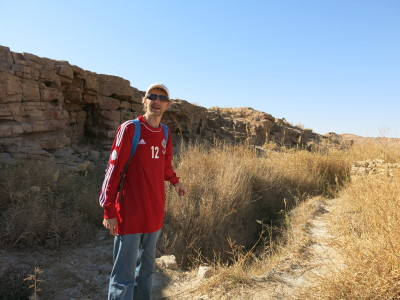 Touring the wilderness at Khalate Talkh