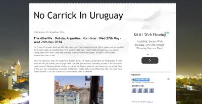 Daniel McFaul's No Carrick in Uruguay