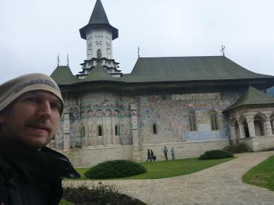 Outside the main church