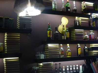 L'Etage Bar in Brasov, Romania.