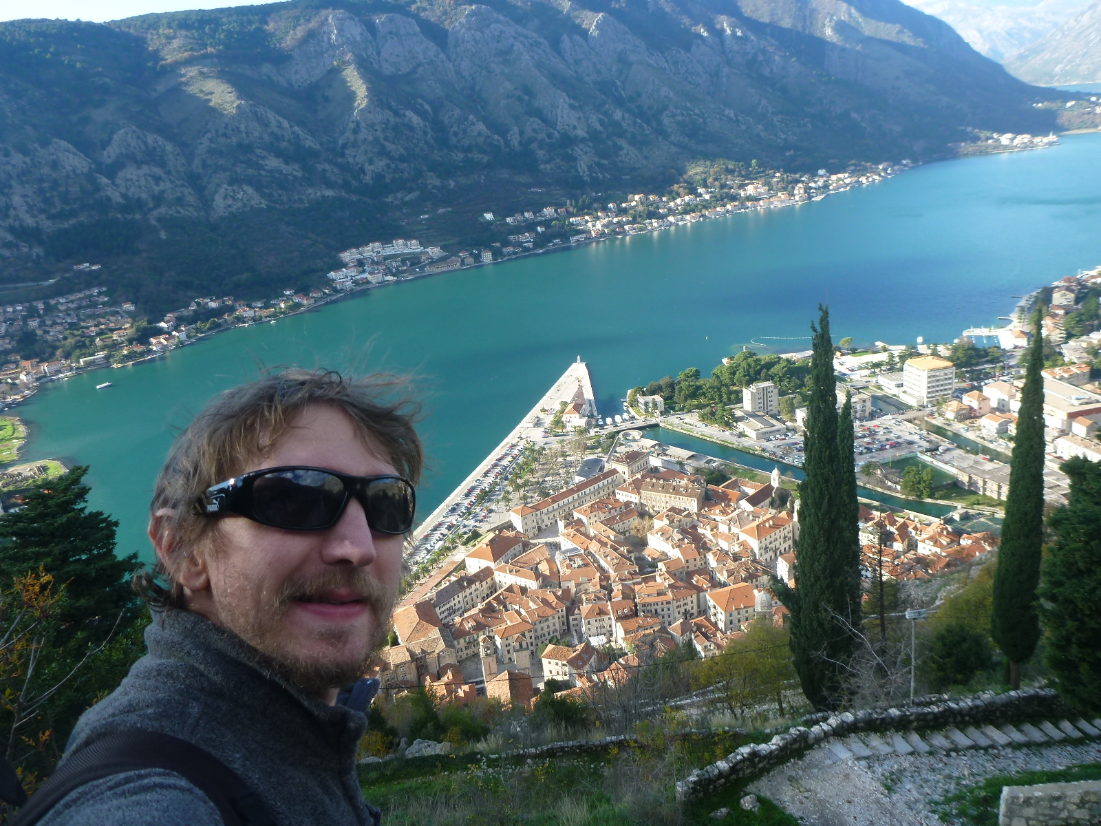 kotor cheap travel backpacker