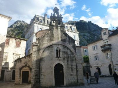 St. Luke's Church inside the Old City Walls