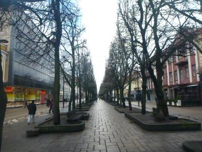 Laisves Aleja is the second longest pedestrian street in Europe