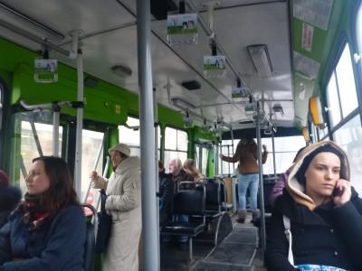 Local bus in Kaunas