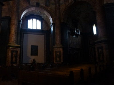 Inside the main monastery