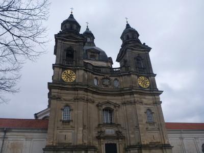 Front of Pazaislas Monastery