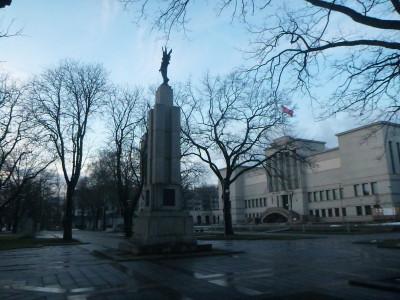 Freedom Monument in Kaunas