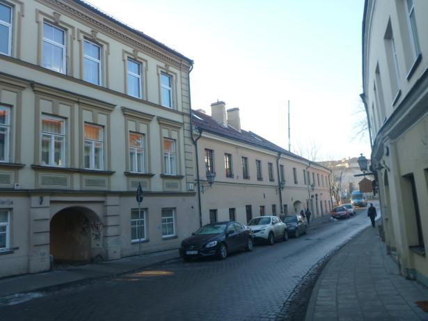 Uzupis Gatve - main street in the country