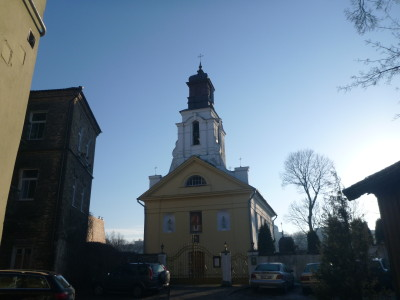 St. Bartholomew Church in Uzupis