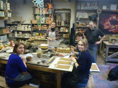 Pottery Workshop and Factory in Uzupis