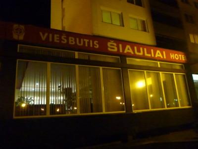 Staying at the Siauliai Hotel in Siauliai, Lithuania