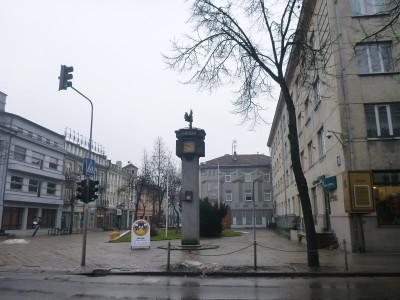 Sun Clock Square, Siauliai