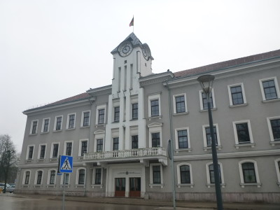 City Municipality Building in Siauliai
