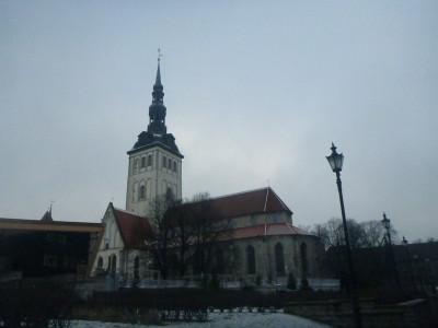 St. Nicholas Church in Tallinn, Estonia