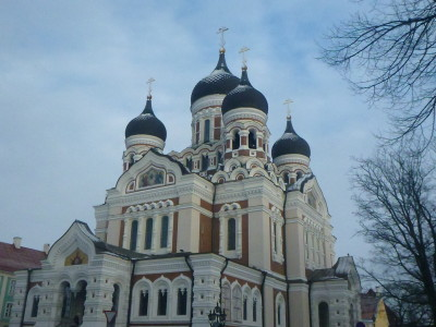 The marvellous Alexander Nevsky Cathedral - similar to the one in Sofia of the same name