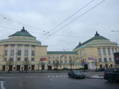 The stunning Opera in Tallinn