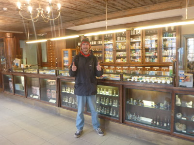 Looking for medication in the world's Oldest Pharmacy