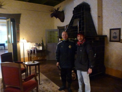 Inside Villa Amende, Parnu, Estonia