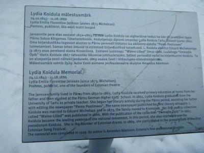 About Lydia Koidula