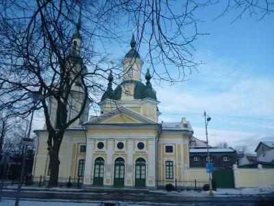 Ekateriina Church/ St. Catherine's Church in Parnu, Estonia