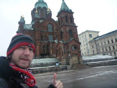 At Uspenski Cathedral.